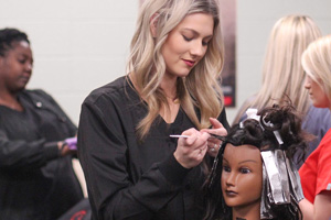 Arkansas State University - Newport Cosmetology Students.